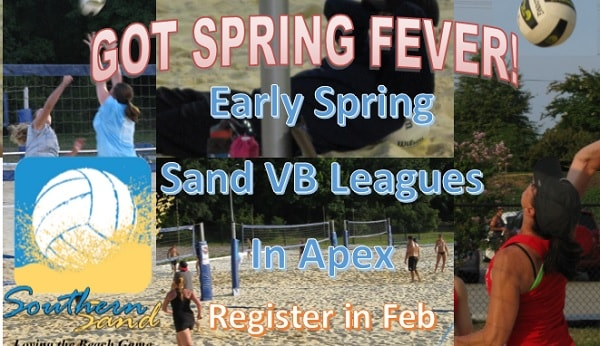 Upcoming Events: Adult Early Spring Leagues (March 11-April 29)-Register BEFORE Mar 8